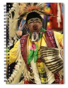 Pow Wow Chicken Dancer Spiral Notebook