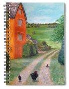 Chicken Farm Spiral Notebook