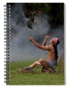 Chicken Myanmar Spiral Notebook