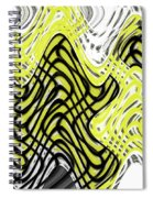Chicken Scratch Abstract Spiral Notebook