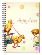 Chicks And Eggs - Happy Easter Spiral Notebook