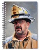 Chief Garrahy Spiral Notebook