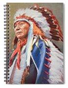 Chief Hollow Horn Bear Spiral Notebook