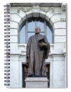 Chief Justice Edward Douglas White Statue- Nola Spiral Notebook