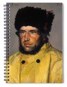 Chief Lifeboatman Lars Kruse Spiral Notebook