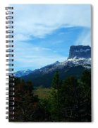Chief Mountain, Emerging Spiral Notebook