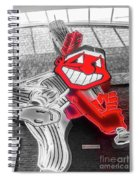 Chief Wahoo Sluggin Spiral Notebook