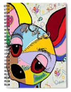 Chihuahua Spiral Notebook