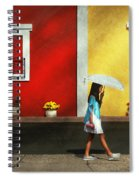 Child - A Bright Sunny Day  Spiral Notebook