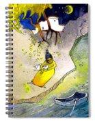 Child Abandon Spiral Notebook