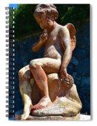 Child At Biltmore  Spiral Notebook