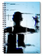 Child In A Fractured World Spiral Notebook