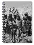 Childern Of The Danakil, Ethiopia Spiral Notebook