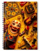 Childhood Toys Spiral Notebook