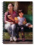 Children - Balanced Meal Spiral Notebook
