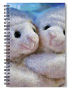 Children - Toys - I Love Ewe Spiral Notebook