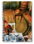Children - Toys - The Tea Party Spiral Notebook