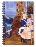 Children Afternoon At Wargemont Marguerite 1884 Spiral Notebook