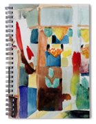 Children At The Greengrocers I Spiral Notebook