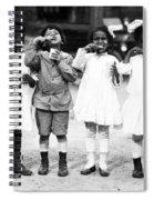 Children Brushing Teeth Spiral Notebook