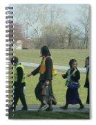 Children Crossing Spiral Notebook