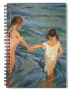 Children In The Sea Spiral Notebook