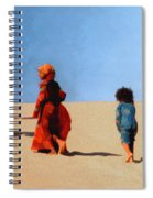 Children Of The Sinai Spiral Notebook