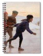 Children Skating Spiral Notebook