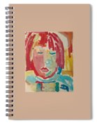 Childrens Portrait Spiral Notebook
