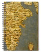 Chile And Argentina With The Strait Of Magellan Spiral Notebook