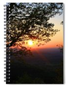 Chilhowee Sunset Spiral Notebook