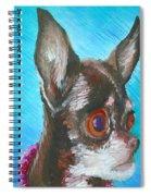 Chili Chihuahua Spiral Notebook