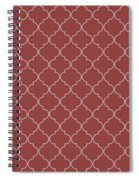 Chili Oil Quatrefoil Spiral Notebook
