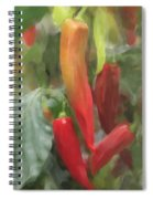 Chili Peppers Spiral Notebook