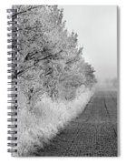 Chill In The Air Spiral Notebook