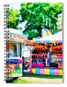 Chillersice Cold Fruit Chillers Spiral Notebook