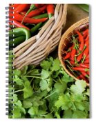 Chillies 08 Spiral Notebook