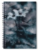 Chilling Blue Lagoon Details Spiral Notebook