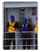 Chilling Sailors Spiral Notebook