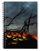 Chilling Sunset Spiral Notebook
