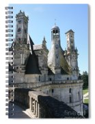 Chimney From Chambord - Loire Spiral Notebook