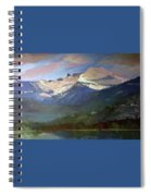 Chimney Rock Priest Lake Spiral Notebook