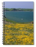 Chimney Rock Trail And Drakes Bay Spiral Notebook