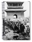 China: Caravan, C1919 Spiral Notebook