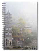 China City Spiral Notebook