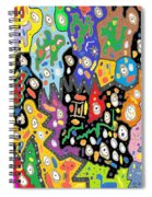 China Fortune Spiral Notebook