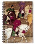 China: Horsemen Spiral Notebook