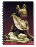 China: Musician Spiral Notebook