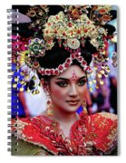 China Pageant Fashion Festival Spiral Notebook
