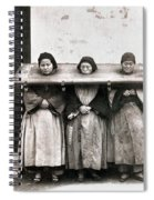 China: Punishment, 1907 Spiral Notebook